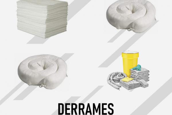 ABSORBENTES Y CONTROL DE DERRAMES